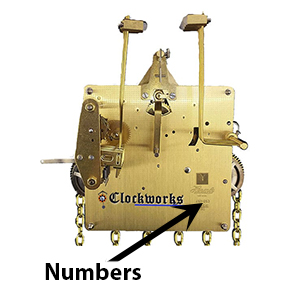 Jauch Clock Movements Clockworks