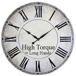 High Torque Clock Movements