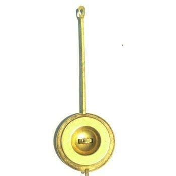 Adjustable Antique Style Brass Rod Pendulum