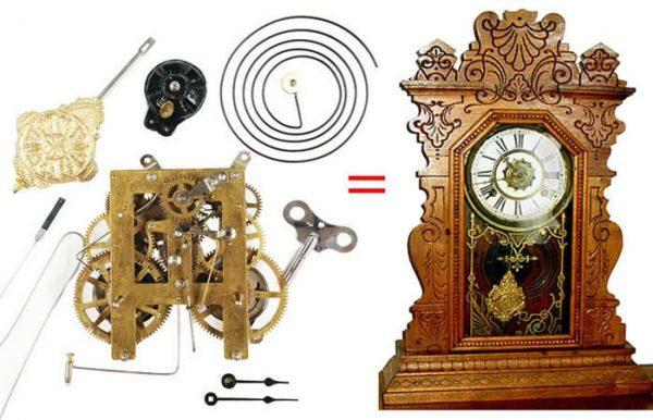Antique Kitchen Clock Replacement Movement