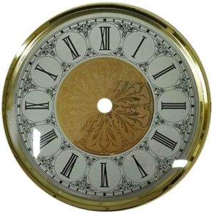 Clock Bezel, Dial, Glass Friction Fit