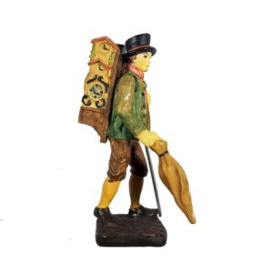Cuckoo Clock Figurine The Traveler