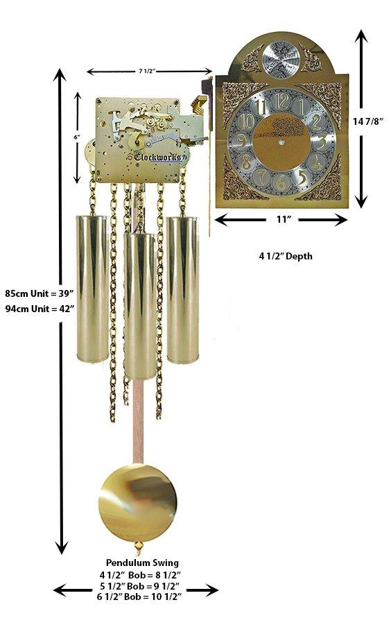 GrandMother Clock Kit GMKIT05