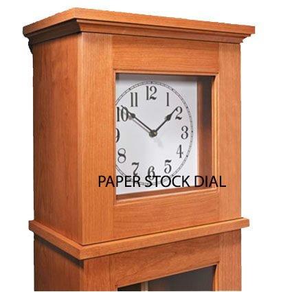Heavy Paper Stock Clock Dial
