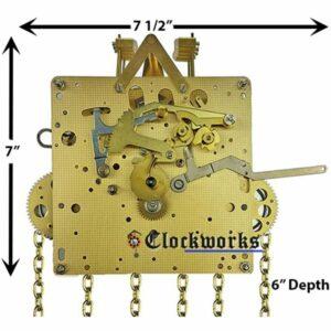 Jauch PL64 Clock Movement Kit