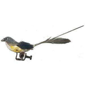 Life Like Cuckoo Clock Bird with Feathers