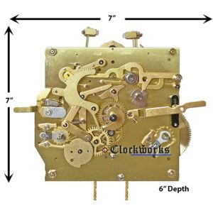 NEW RWS Kieninger Clock Movement