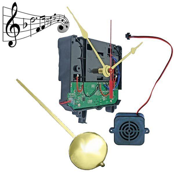 #QU40 Chime Pendulum Clock Movement