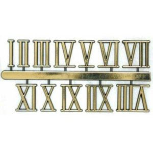 Sticky Roman Numerals